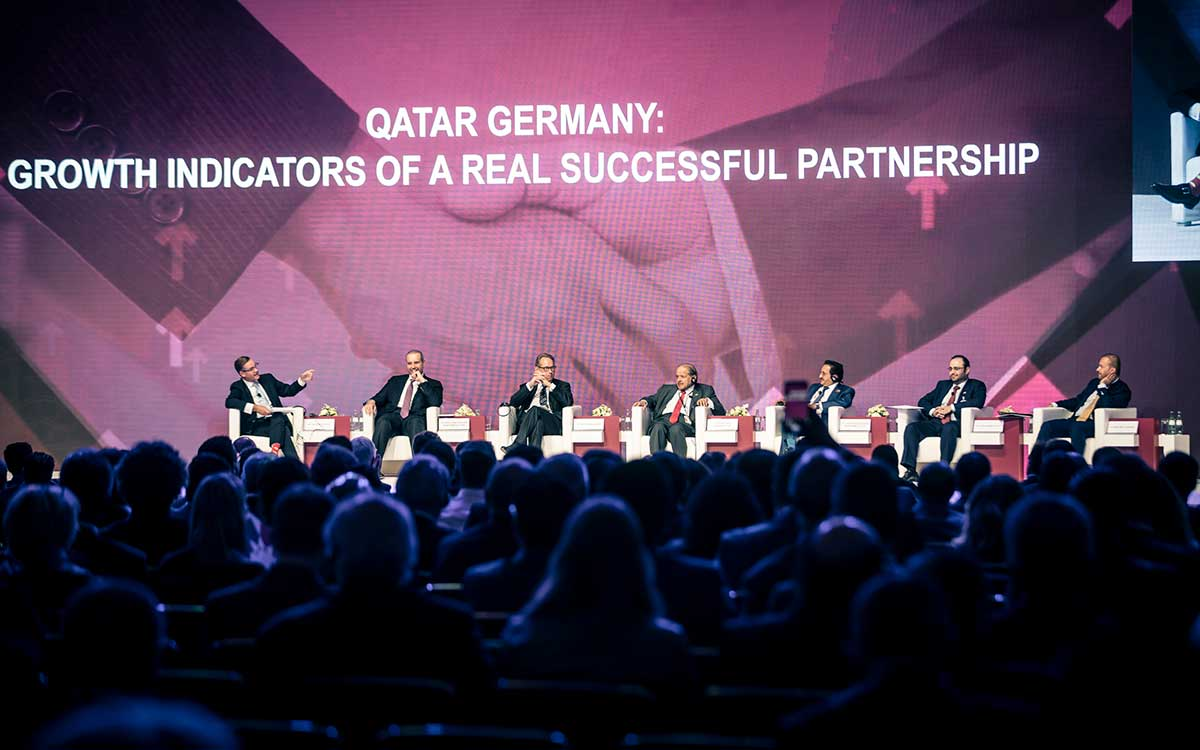 First Session - Qatar Germany Business and Investment Forum