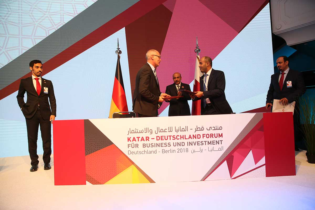 MOUs - Qatar Germany Business and Investment Forum